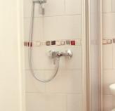 Dusche praktischer Einhandmischer, stilistische Amaturen Badezimemr