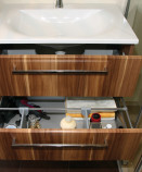 Waschtisch Unterschrank, Schublade, Kleinbad, Sanierung, Wien, 1020, 1160, Karin, Prisma