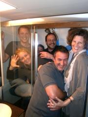 Rekordversuch, wie viele Menschen in eine Dusche, Bad-Wien